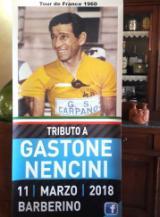 Locandina iniziativa su Gastone Nencini