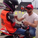 Pasquetta a scuola … di moto (fonte foto comunicato stampa)