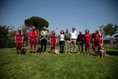 Unita cinofile della Croce Rossa potranno addestrarsi al Parco degli Animali
