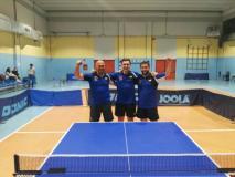 La B2 vincente promossa in B1 di Boyadzhiev, Raccanello e Colli