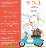 Locandina 'Il nostro cuore volge al Sud  - Freud in Italia tra Natura, Cultura e Cibo'