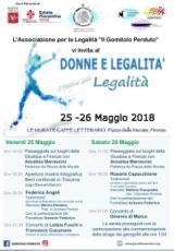 Locandina-Programma del Festival della legalita'