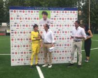 Paolo Raimondi premiato come miglior portiere (fonte foto comunicato stampa)