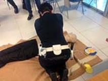 vigili urbani corso uso defibrillatore misericordia