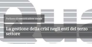 Quaderno Cevot 'Gestire le crisi negli enti del terzo settore'