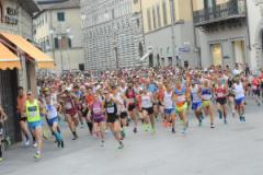 la partenza  dell'edizione 2017 (foto Piero Giacomelli - Regalami un sorriso Onlus)