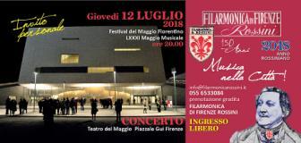 Locandina evento al Teatro del Maggio