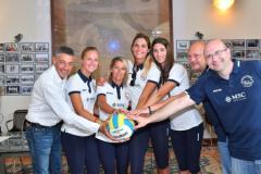 Squadra per la Lega Volley Summer Tour 2018