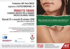Progetto tiroide di fondazione ANT a Castelfiorentino e Montespertoli