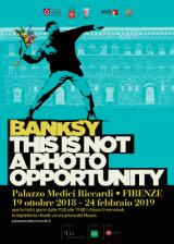 Palazzo Medici Riccardi, 20 opere di Banksy in mostra in 'This is not a photo opportunity'