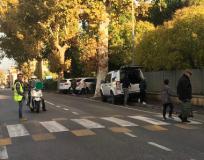 servizio di attraversamento stradale