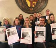 Un calendario per sostenere Artemisia, l'iniziativa della Polisportiva tassisti fiorentini per le donne