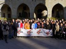 Volontariato in piazza a Pistoia