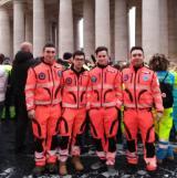 Volontari di Tavarnuzze a Roma dal Papa