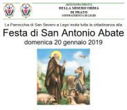 Volantino Festa di San Antonio Abate a Legri