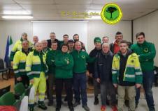 Volontari della sezione di Sesto Fiorentino di La Racchetta Onlus