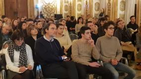 L'incontro del Sindaco Dario Nardella con gli studenti e i dirigenti scolastici (foto di Domenico Costanzo, Ufficio Stampa)