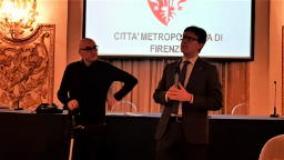 Giampiero Mongatti e Dario Nardella (foto di Domenico Costanzo, Ufficio Stampa)