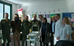 Donazionedi una sonda ecografica alla pediatria del San Giuseppe