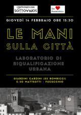 Manifesto del progetto 'Le mani sulla citta''
