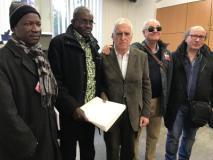 Nella foto un momento dell'incontro tra i rappresentanti dell'Uic di Firenze e quelli dell'associazione africana