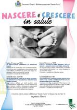 Locandina Empoli - Nascere e crescere in salute