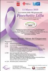 Locandina Fiocchetto lilla 15 marzo