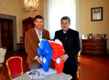 Il Presidente A.T.T. Giuseppe Spinelli in visita al Cardinale Betori