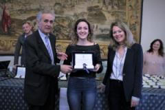 Presentazione logo della Consulta del Volontariato, prima classificata Chiara Lillo (foto Antonello Serino, Ufficio Stampa - Met)