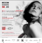 L'invito alla mostra e asta delle opore di Gianni Ugolini (foto da sito di Gianni Ugolini)