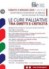 Locandine iniziativa cure palliative (foto da comunicato)