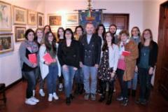 Servizio civile, la consegna ai ragazzi volontari della Costituzione Italiana