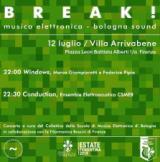 Locandina 'BREAK ! musica elettronica dal vivo'