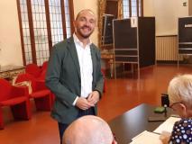 Il Sindaco di Campi Bisenzio Emiliano Fossi