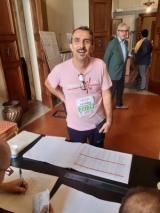 Il Presidente del Consiglio comunale di Firenze Luca Milani