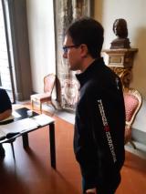 Il Sindaco Dario Nardella vota in Palazzo Medici Riccardi per il rinnovo del Consiglio della Città Metropolitana di Firenze