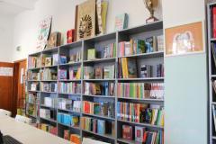 Biblioteca scuola Giuntini (foto da comunicato)