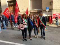 Monica Marini e gli altri Amministratori intervenuti