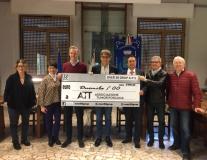 Estate al Mulinaccio, donazione degli Over 50 all'ATT (Foto da comunicato)
