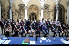 'Le vie di Dante': siglato accordo in Palazzo Medici Riccardi (foto Antonello Serino, Ufficio Stampa Città Metropolitana)