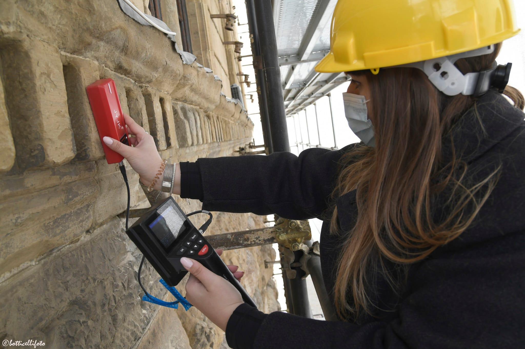 Palazzo Medici Riccardi. Monitoraggio e conservazione delle facciate (foto di Alessandro Botticelli)