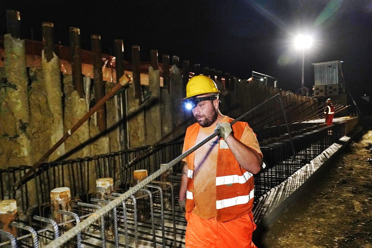 Sopralluogo del Sindaco Dario Nardella sulla FiPiLi, con la sindaca di Lastra a Signa Angela Bagni