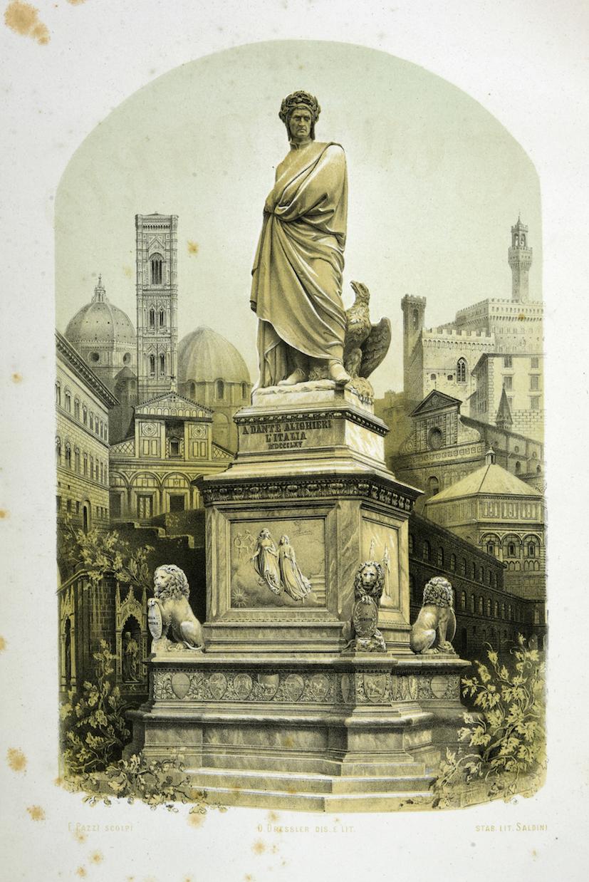 Albo per la memoria del sesto centenario celebrato in Firenze in onore di Dante Alighieri. 1865